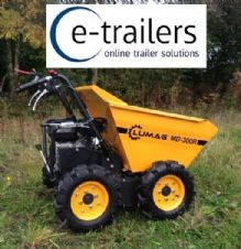 GERMAN QUALITY 4x4 LUMAG MD300R MICRO MINI 300kg DUMPER POWER BARROW INC VAT
